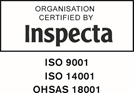 Inspecta 9001, 14001 and 18001 certificates