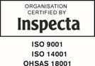 Inspecta 9001, 14001 ja 18001 –sertifikaatit